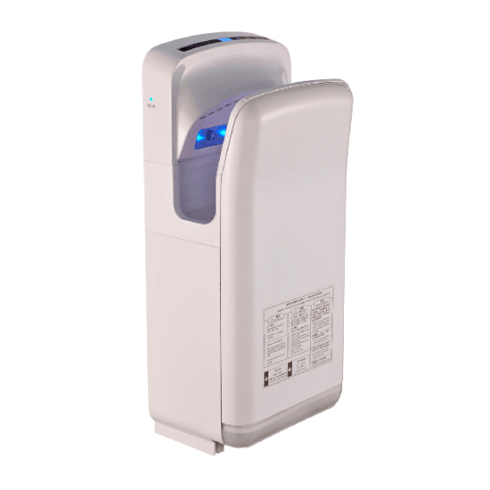 Economic Speedy Dual Hand Dryer Blade Low Noise One Chip Button Control Jet Bathroom Dryer
