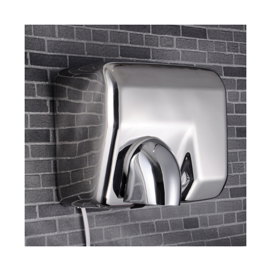 Automatic High Speed Commercial Air Dryer CE Approved Stainless Steel Hotel Handdrier